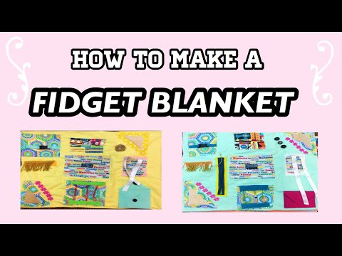 How to Make a Fidget Blanket