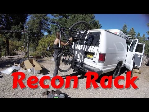 COOLEST BIKE RACK EVER?!?! Unboxing and Assembling our RECON RACK