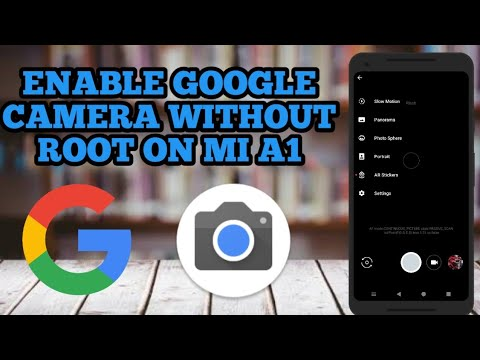 Mi A1  Easiest way to install Google Camera  No root required  Windows Enable EIS ON mi a1