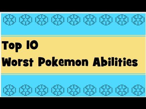 Top 10: Worst Abilities in Pokemon