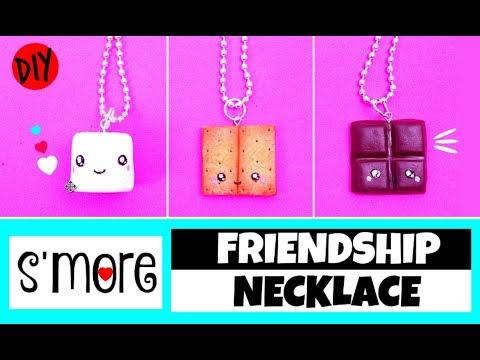 DIY Friendship Necklace - DIY BFF GIFT IDEAS