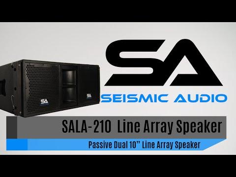 Seismic Audio SALA-210 Line Array Speaker (Official)