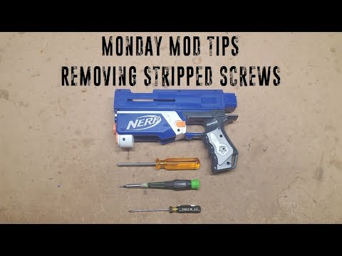 Monday Mod Tips - Removing Stripped Screws