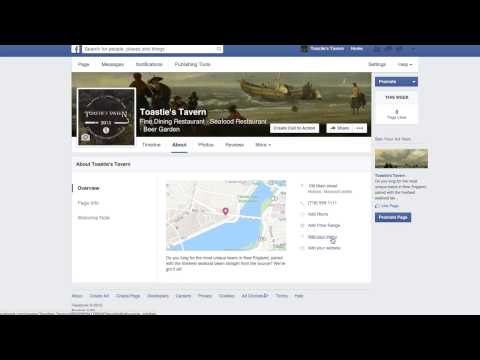 Adding your Menu to your Facebook Business Page