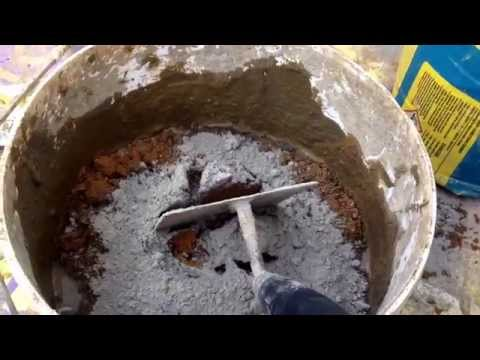 mixing mortar for patio pointing and  how long do masonary  blades last??