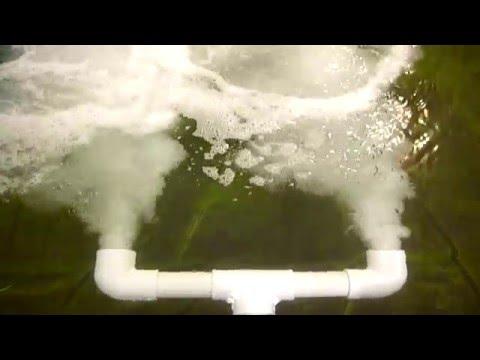 airlift aeration oxygen for koi fish pond