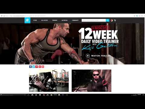 Workout Week 1 | Using Bodybuilding.com and BodySpace App