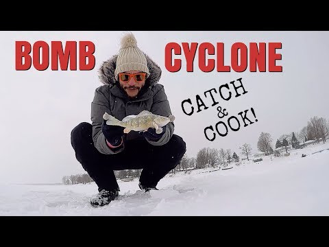 BOMB CYCLONE CATCH & COOK!!!