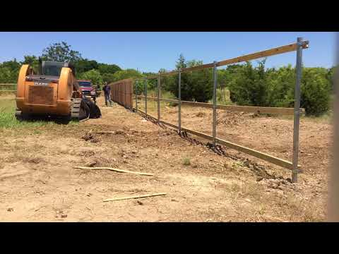 How to Build a Fence - Lucas Brothers Construction