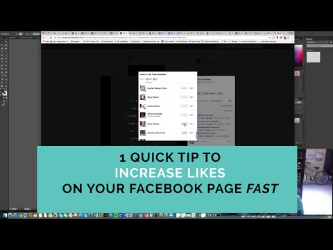 1 Quick Tip To Increase Likes on your Facebook Page Fast