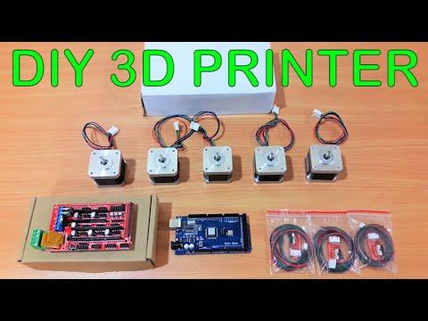 Arduino 3D Printer | Homemade - Part 1
