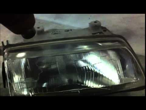How to easily clean up debris inside your headlight.