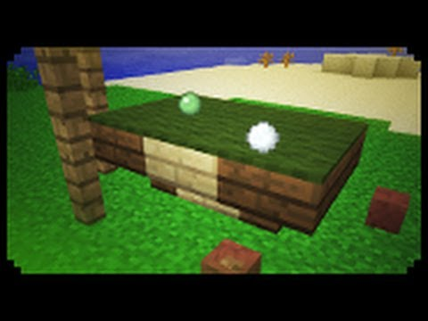 ✔ Minecraft: How to make a Pool Table (Improved Version)
