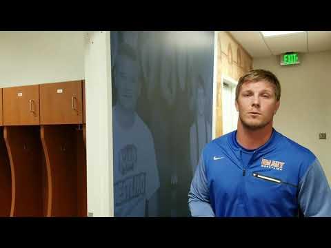 New Locker Room Facility For University of Mary Wrestling