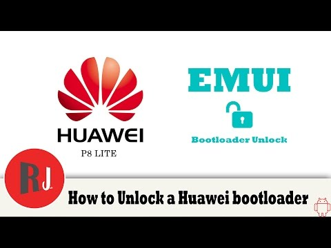How to Unlock the bootloader on your Huawei Android device P8 Lite