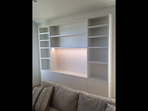 Built-in Bookcase: Custom Cabinetry