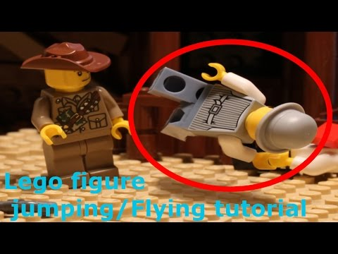 How to make a Lego figure jump - Stop-Motion Tutorial FREE