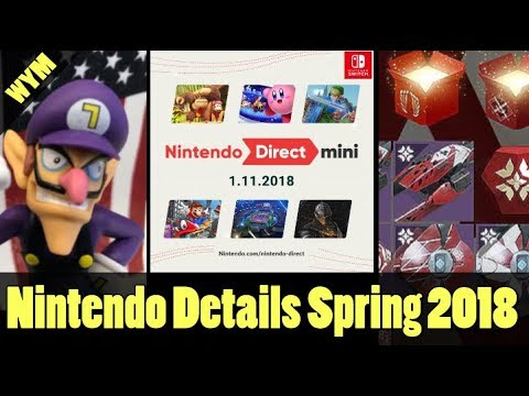 Nintendo Direct Summarized, Destiny 2 Valentines Day Loot Boxes, Waluigi is a BIGOT