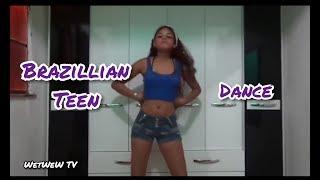 Dancing sexy teen Video of