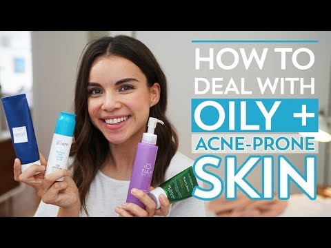 How to Deal with Oily + Acne-Prone Skin | Ingrid Nilsen
