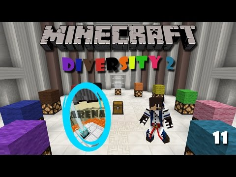 Minecraft Map : Diversity 2 (Part 11) - Arena Branch (2)