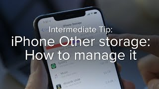 iPhone Other storage: What is it and how do you delete it?