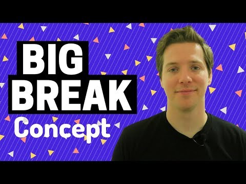 Why You Should Stop Waiting for Your Big Break