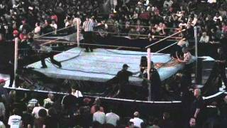 WWE Referees Change Ring Apron and Ropes
