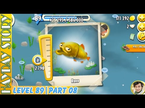 Small Circle To Catch Large Fish in Hay Day Level 89 | Part 08