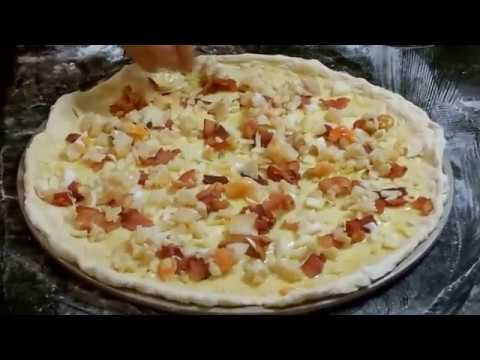 Home Cooking With Josephine Romano- Home Made Seafood Pizza