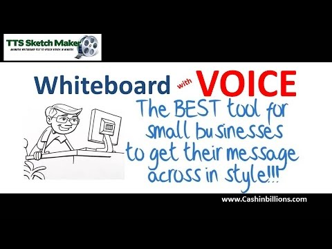 TTS Sketch Maker Review | Text to Speech Sketch Maker | Video Creator Software by Jimmy Mancini
