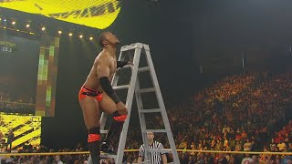 Byron Saxton competes in a capture the flag contest: NXT, Dec. 7, 2010 (WWE Network Exclusive)