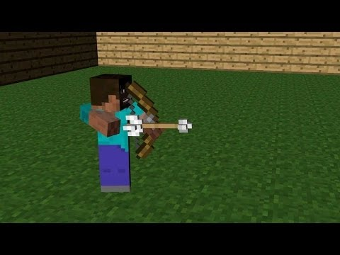 How to get Unlimited Bows in Mincraft PE