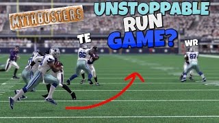 WOULD A FULL TEAM OF OFFENSIVE LINEMEN MAKE YOUR RUN GAME UNSTOPPABLE?? Madden 17 Mythbusters