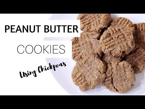 Healthy Peanut Butter Cookies | No Flour, 5 Ingredients