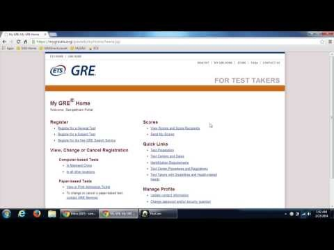 How to REPORT GRE SCORES TO UNIVERSITIES ! EASY !