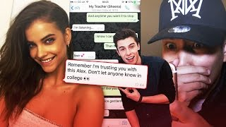 Pranking my TEACHER with Shawn Mendes