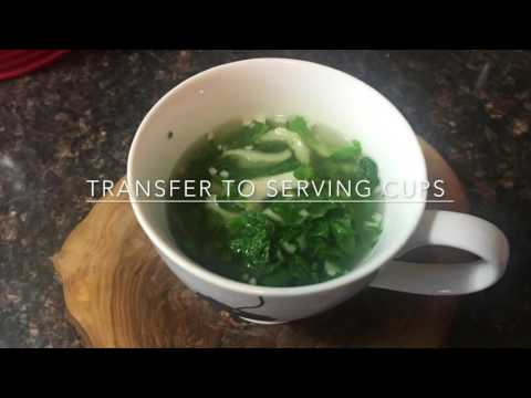 Day 232 - Quick & Easy Bok Choy Soup