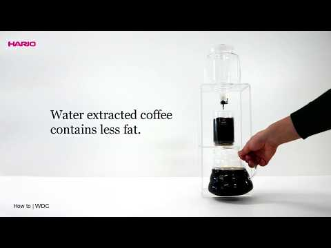 HARIO (COFFEE) - WATER DRIPPER (WDC-6) BY HEAP SENG GROUP