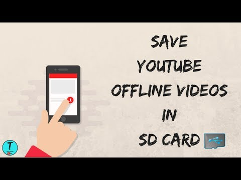 How To Save Youtube Offline Videos In SD Card