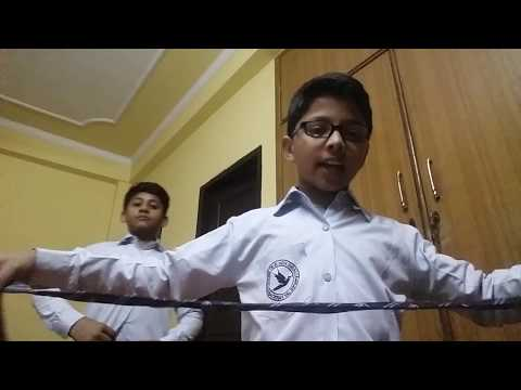 how to make a tie knot in hindi (SANDY & CANDY).