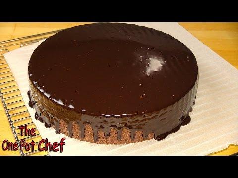 10 Minute Microwave Chocolate Fudge Cake One Pot Chef