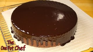 10 Minute Microwave Chocolate Fudge Cake One Pot Chef