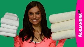 How to Fold Bath, Hand & Face Towels in the Bathroom & Linen Closet