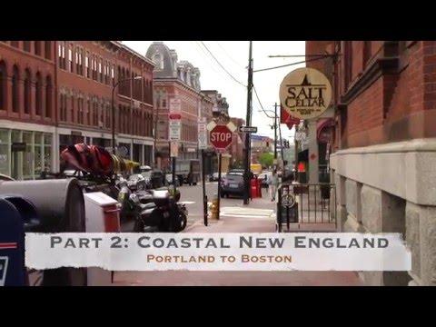 US Route 1 Road Trip, Part 2: Coastal New England - Portland to Boston