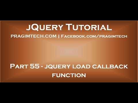 jquery load callback function