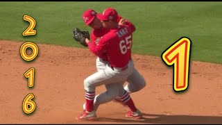 Funny Baseball Bloopers of 2016, Volume One