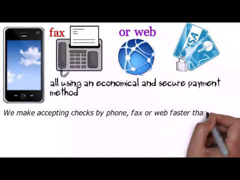 Accept & Process eCheck Payments Online Electronic Checks  -  (818) 538-7885