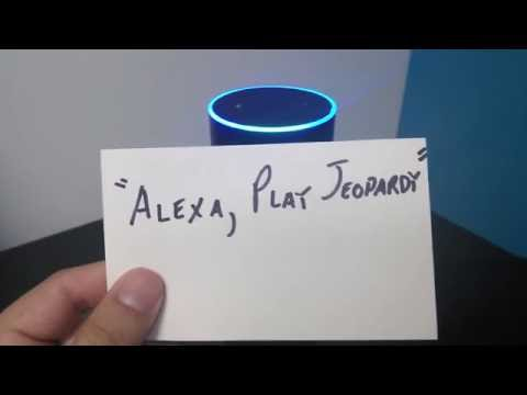 Alexa Skills: Jeopardy!'s Hidden Question-Answers