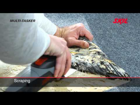 Skil 1480 AD multi tool: Sanding, sawing, cutting and more with one tool